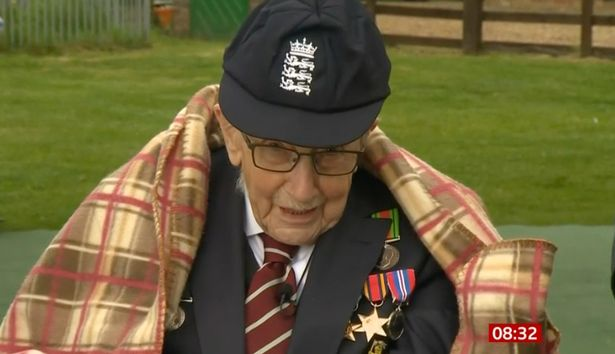 Captain Tom Moore made member of England cricket team