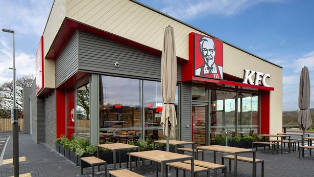 KFC unveils where first UK stores