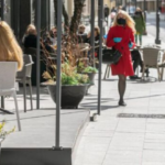 Lithuanian city flirts with becoming one large outdoor cafe