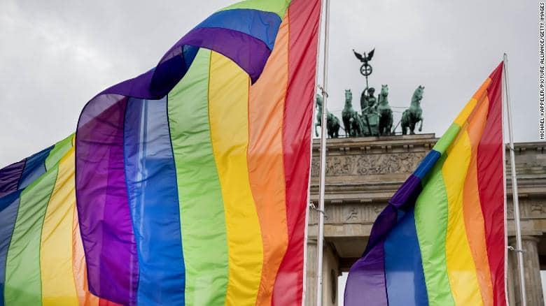 Germany bans gay