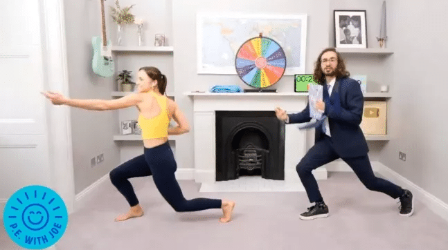 How to watch today's Joe Wicks