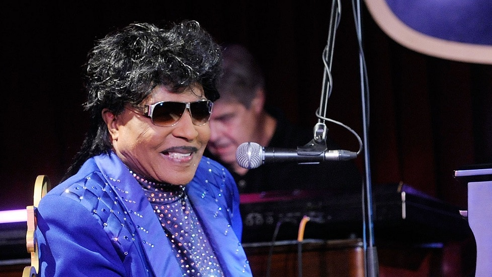 Little Richard laid