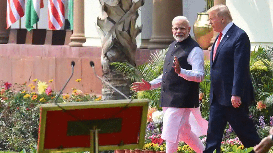 PM Modi had no conversation