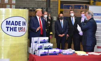 Trump to visit home turf of a frequent target amid pandemic