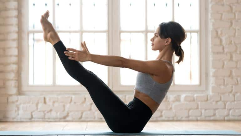 5 Pilates moves at home and burn more