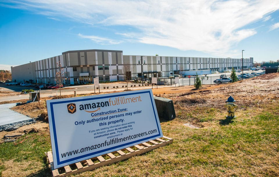 Amazon Hiring For Construction