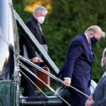 Trump belittled by medical professionals after departing hospital they are driving by supporters