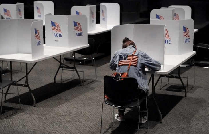 AP VoteCast: Missouri voters mixed on state of nation