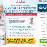 Steady Alpha Male Enhancement : Is It Time To Try Male Enhancement?