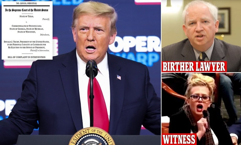 Trump news – live: 17 states join Texas' 'insane' Supreme Court lawsuit in bid to overturn electio