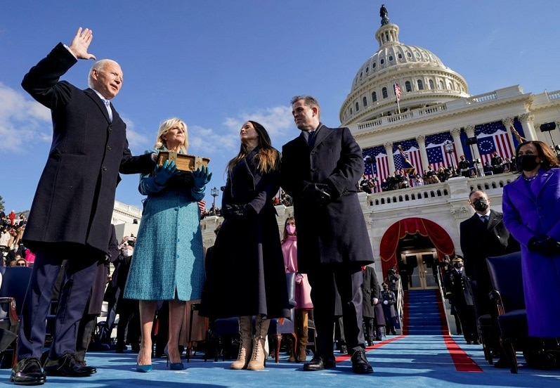 Bishops welcome Biden as president, offering prayers for the common good