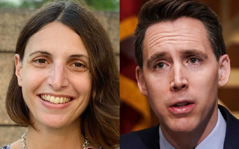 I lost a law school election to Josh Hawley. I moved on then, and he should now on Trump.