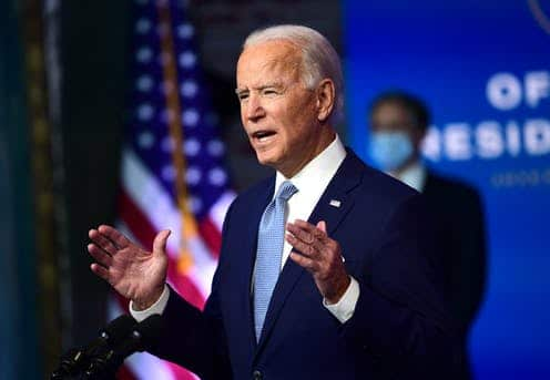 Biden Grapples Balancing Optimism on Pandemic's outlook !