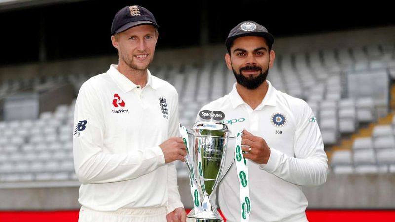 India vs England - Test Match