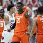 No. 12 Illini's offense facing test against No. 19 Wisconsin