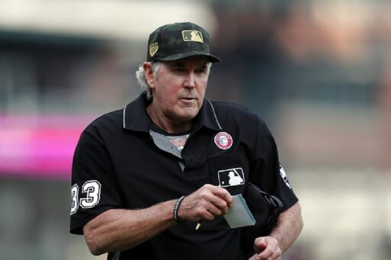 Call it a career: MLB ump Winters opted out in '20, now done