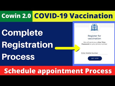 Cowin Registration step by step