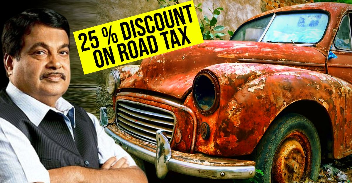Vehicle Scrappage Policy Rebate on Roads Discounts, Scrap and Tax Benefit