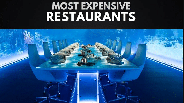 most expensive restaurant in the world