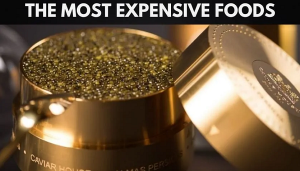 world most expensive foods