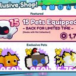 Pet Simulator X Exclusive Pets {Sep} Grab New Features!